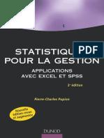 Statistiques pour la gestion – Applications Excel et SPSS by Pierre-Charles Pupion (z-lib.org)