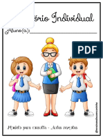 Relatório Individual aulas remotas