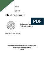 Modul EL-3109 Elektronika II Semester 1 2018-2019 FIX (170 buku - cover no 50)