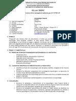 Syllabus Arqueologia General 2020-1