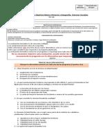 Evaluación Formativa Séptimo Básico HGCS Tik Tok