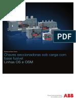 Catalogo Chaves seccionadoras OS e OSM