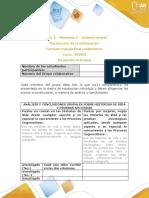 Anexo 3 - Momento 3 - Informe Grupal