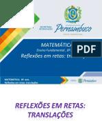 Reflexões em retas translações.ppt