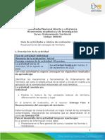 Guía de Actividades y rúbrica de evaluación - Fase 1 - Realizar el reconocimiento del concepto de territorio