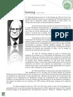 03) Rosas, E. G. (2006). Edwards W. Deming en Filosofías de calidad. México Instituto Tecnológico de los Mochis, pp. 5-25