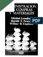 04) Michiel. L. (2000). Capitulo 3. Procedimiento y Flujo de información. en Administración de Compras y Materiales. México CECSA, pp. 77-89.pdf