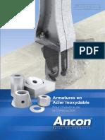 Armature d'ancrage Ancon inox
