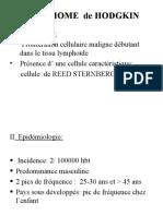 Lymphome de Hodgkin