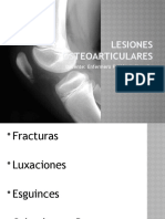 Clase  Lesiones Osteoarticulares