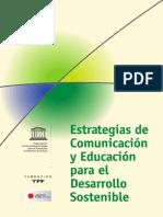 ESTRATEGIA DE COMUNICACION Y EDUCACION PARA EL DESARROLLO SOSTENIBLE