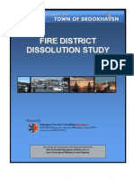 Gordon Heights Fire District feasibility study