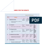 RUBRIC-FOR-THE-DEBATE