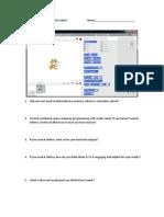 Questionnaire of Scratch