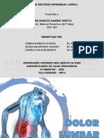 FERIA DE SERVICIOS - ENFERMEDADES LABORALES