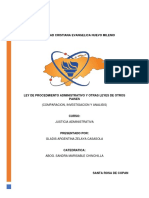 INVESTIGACION Y ANALISIS DE LA LEY DE PROCEDIMIENTO ADMINISTRATIVO DE HONDURAS CON OTROS PAISES.pdf