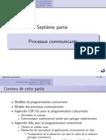 Cours 7 - Processus communicants