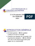 Éric Godelier -  MODÈLES ET PRATIQUES DE LA STRATÉGIE D'ENTREPRISE - 2006