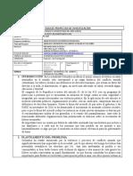 FICHA PROYECTO DE INVESTIGACIÓN