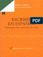 GARCIA NEGRONI - Escribir en español Claves para una correccion de estilo.pdf