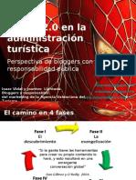 Ponencia Simo 2007. Travel 2 0 & Bloggers y administración. Isaac Vidal y Joantxo Llantada