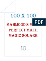 100x100 Mahmood's Most Perfect Math Magic