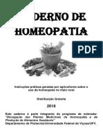 Caderno de Homeopatia