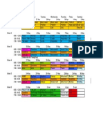 USMLE Step I Study Schedule