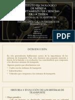 IMPORTANCIA DE LOS SISTEMAS DE TRANSPORTE