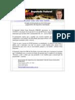 Projeto de lei prevê uso do FGTS para pagamento de impostos municipais