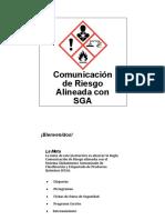 Entrenamiento SGA NOM 018 STPS SA