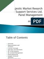 MMRSS Panel Management services