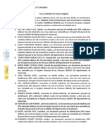ACTA NOTARIAL DE GRUPO COALIGADO