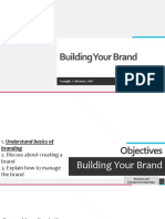 7 Building Your Brand