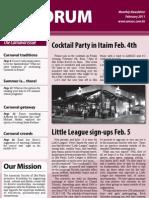 AmSoc Forum February 2011 issue