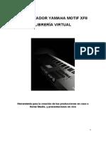 Sintetizador Yamaha Motif XF8