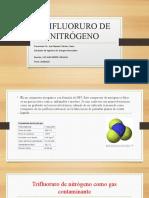 TRIFLUORURO DE NITRÓGENO