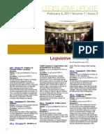 CALCASA Legislative Update 02/04/11