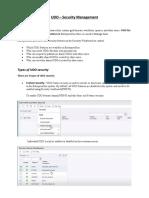 JDE 9.2 UDO - Security Management