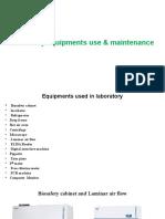 PPT on euipment maintainanc