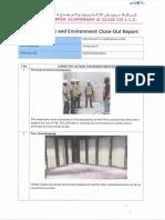 Closing report 3