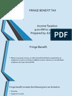 Fringe Benefit Tax.odp
