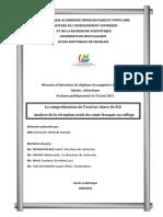 CD64 comprehension orale