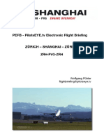PVG ZRH Aviation Briefing Chart