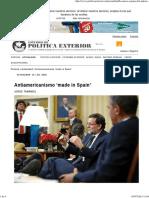Antiamericanismo 'made in Spain'