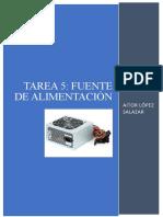 TAREA 5. Fuente de Alimentación - AITOR LS