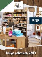 Catalogue sélection boutique 2019