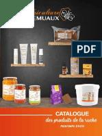 Catalogue des produits de la ruche Printemps 2020 - Apiculture Remuaux