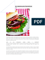 10 hamburguesas veganas para impresionar