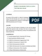 METHOD STATEMENT FOR WMM.doc